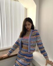 【全球百大美女2020】第23位:韓國女團Blackpink成員Jennie Kim(jennierubyjane Instagram圖片)