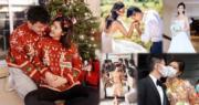 余香凝於10月驚爆喜訊,被指雙喜臨門的她11月時與圈外男友陸政渡(Tim)舉行婚禮。新婚一個月後,余香凝趁聖誕節公布懷孕好消息。(資料圖片 / 明報製圖)