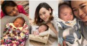 楊思琦去年與圈外男友秘密結婚,今年2月誕下兒子Kody。(網上圖片/資料圖片/明報製圖)
