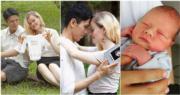 陳明恩於11月在澳洲誕下混血兒子。(網上圖片/資料圖片/明報製圖)