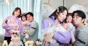 王祖藍生成外父相,李亞男再為他誕下女兒。(網上圖片/資料圖片/明報製圖)