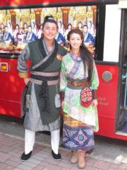蔡思貝和洪永城拍《味想天開》。(資料圖片)
