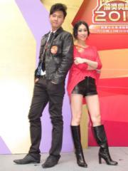 王浩信和胡定欣曾合作拍劇。(資料圖片)
