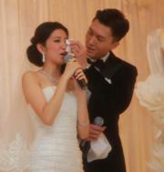王浩信和陳自瑤於2011年結婚。(資料圖片)