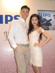 王浩信和陳自瑤婚後不時出席公開活動放閃。(資料圖片)