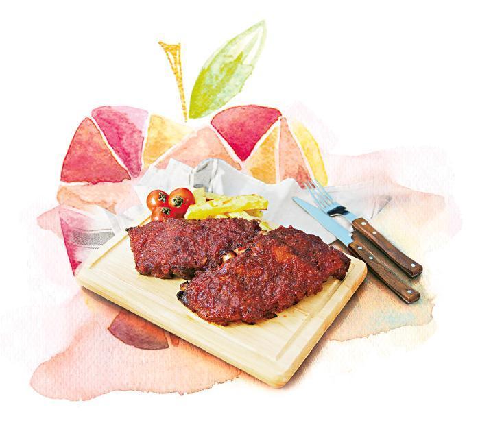歐陸煮意:蘋果醬烤豬肋骨 垃圾變餐桌瑰寶