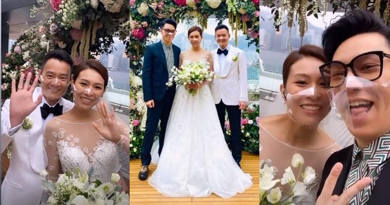 限聚令下的婚禮|前港姐朱慧敏嫁心臟科醫生 王賢誌「飲茶」 (11:24)