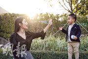 名人親子:2歲兒子愛搗蛋  林芊妤 以閱讀擺平trouble 2