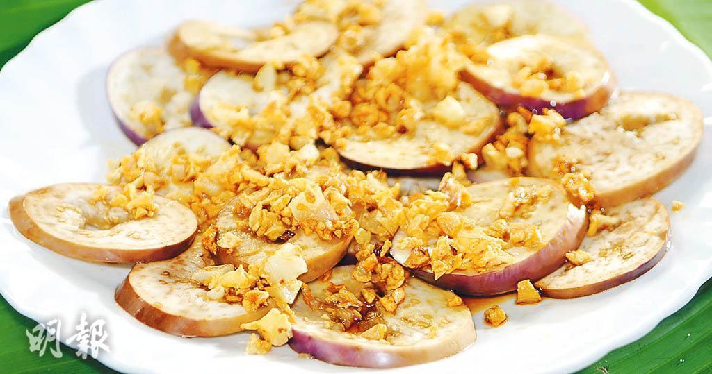 茄子食譜:蒜蓉肉碎茄子 素食可用新豬肉代肉碎