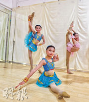 芭蕾舞女孩 盼重回舞台
