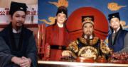 智叔跟狄龍、黃日華演出《包青天》,他飾演公孫策一角。(資料圖片/明報製圖)