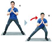 訓練篇:4招強下肢肌肉  久坐者必練