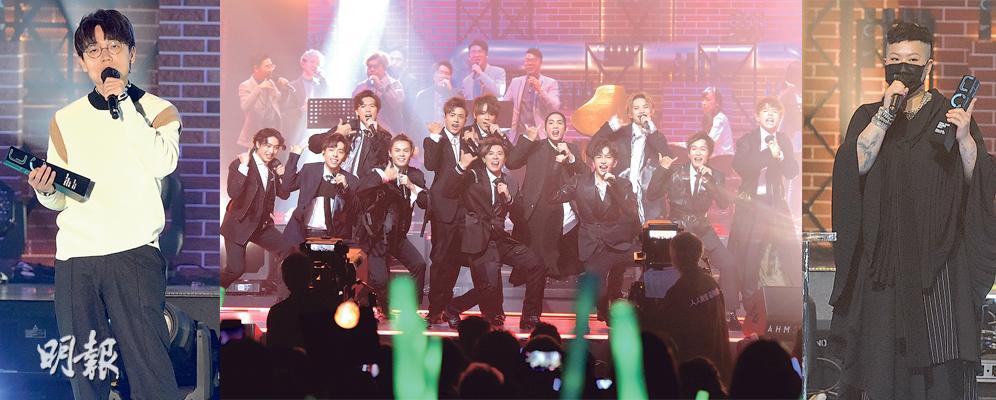 ViuTV的首届音乐颁奖典礼上,江涛获得了银奖,有信心成为亚洲第一,林家谦获得了第六名,获得了大奖,并获得了男歌手金奖-20210419-SHOWBIZ