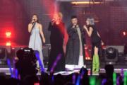 李幸倪(左起)、鄭欣宜、林二汶和泳兒以不同演繹方法,唱出謝霆鋒的金曲。(鍾偉茵攝)