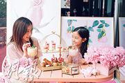 甜蜜滋味:與媽媽走入粉紅森林歎下午茶