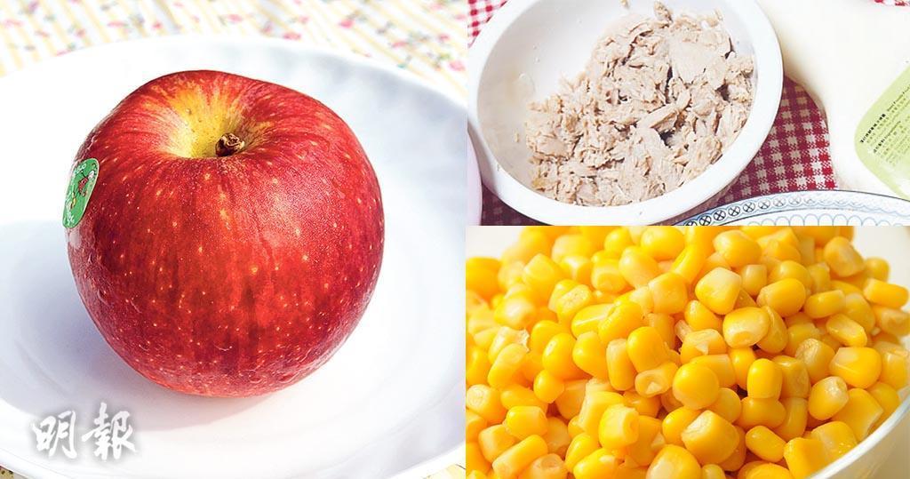 蘋果食譜:蘋果吞拿魚沙律三文治