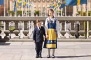 瑞典小公主Princess Estelle與弟弟Prince Oscar(Kungahuset facebook圖片)