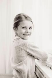 瑞典王室發布照片,慶祝Princess Estelle 2月23日6歲生日。(Erika Gerdemark, Royal Court, Sweden)