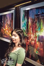 hear her say...:Rainbow Tse享受創作的直覺 香港街景水彩畫出熟悉回憶