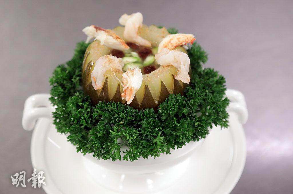 冬瓜食譜:迷你冬瓜盅 足料鮮味
