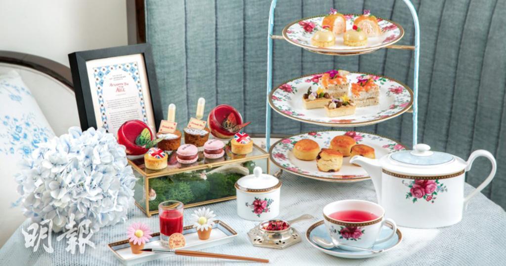 OL閨蜜下午茶之選 英式下午茶@朗廷酒店 愛麗絲主題慶朗廷酒店156周年