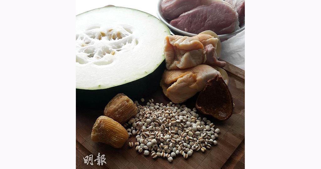冬瓜湯食譜:冬瓜薏米陳皮煲螺頭  利水健脾