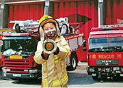 模擬職業體驗 化身消防員、飛機師