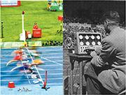 東京奧運指定計時  精準捕捉衝線一刻