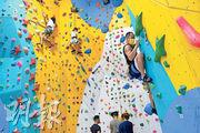 奧運玩樂企画(2)運動攀登 「蜘蛛俠」飛牆走壁 鬥智鬥力