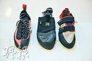 基本裝備:攀石鞋選稍緊 平底寬面適合新手