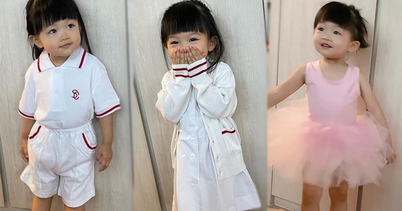 陳展鵬單文柔女兒入讀名牌幼稚園 每年學費逾8萬蚊 (17:14)