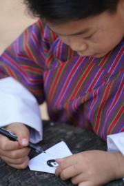 2021年4月14日,不丹小王儲Jigme Namgyel Wangchuck。(Jetsun Pema facebook圖片)
