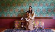 王后佩馬、小王儲、二王子(His Majesty King Jigme Khesar Namgyel Wangchuck facebook圖片)
