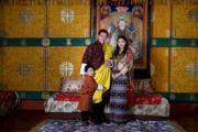 2020年2月,王后佩馬懷有第二胎。(His Majesty King Jigme Khesar Namgyel Wangchuck facebook圖片)