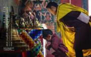 2018年5月,不丹國王基沙爾及小王儲(yellow.bt網站圖片)