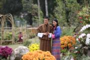 2018年4月25日,不丹國王基沙爾(左)與王后佩馬(右)(His Majesty King Jigme Khesar Namgyel Wangchuck facebook圖片)