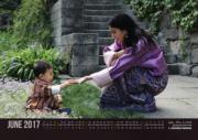 不丹王后佩馬與小王儲Jigme Namgyel Wangchuck(不丹王室網站圖片)