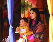 不丹王后佩馬與小王儲Jigme Namgyel Wangchuck(不丹王后佩馬facebook圖片)