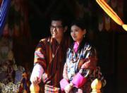 不丹國王基沙爾與王后佩馬(不丹王后佩馬facebook圖片)