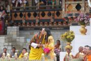 不丹國王基沙爾於2011年與佩馬結婚。(不丹王室facebook圖片)