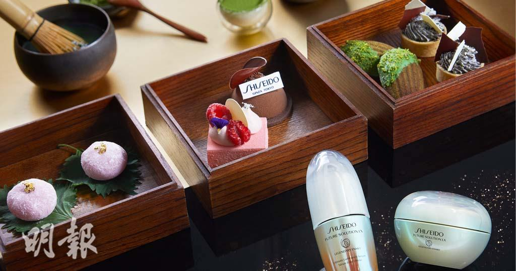 OL閨蜜下午茶之選|SHISEIDO X 文華東方 歎和式下午茶獲贈護膚品