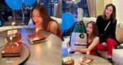 與王子分手後首個生日 鄧麗欣獲區文詩酒店陪慶祝