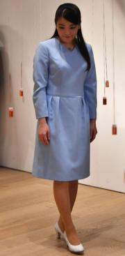 2018年7月22日,真子公主訪問巴西聖保羅(Sao Paulo),參觀當地日本文化推廣中心Japan House。(法新社)