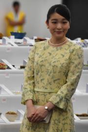 2018年7月21日,真子公主訪問巴西聖保羅(Sao Paulo),出席第21屆日本節。(法新社)