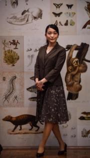 2018年7月24日,真子公主訪問巴西聖保羅,參觀聖保羅大學動物學博物館(the Museum of Zoology of the University of Sao Paulo)。(法新社)