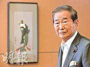 石原慎太郎向來是極具爭議的日本右翼急先鋒,屢屢發表激烈言論。(余俊亮攝)