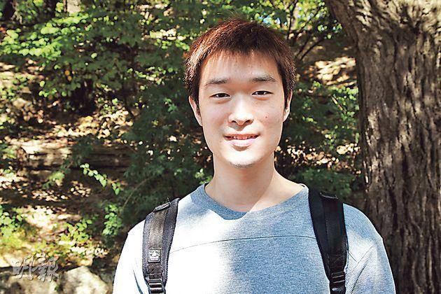 高麗大學會計系學生林大漢認為,韓國成功的民主化轉型,對國家今天的成就至關重要:「若非當年,我們不可能有今天自由市場經濟和文化繁榮。」(林俊源攝)