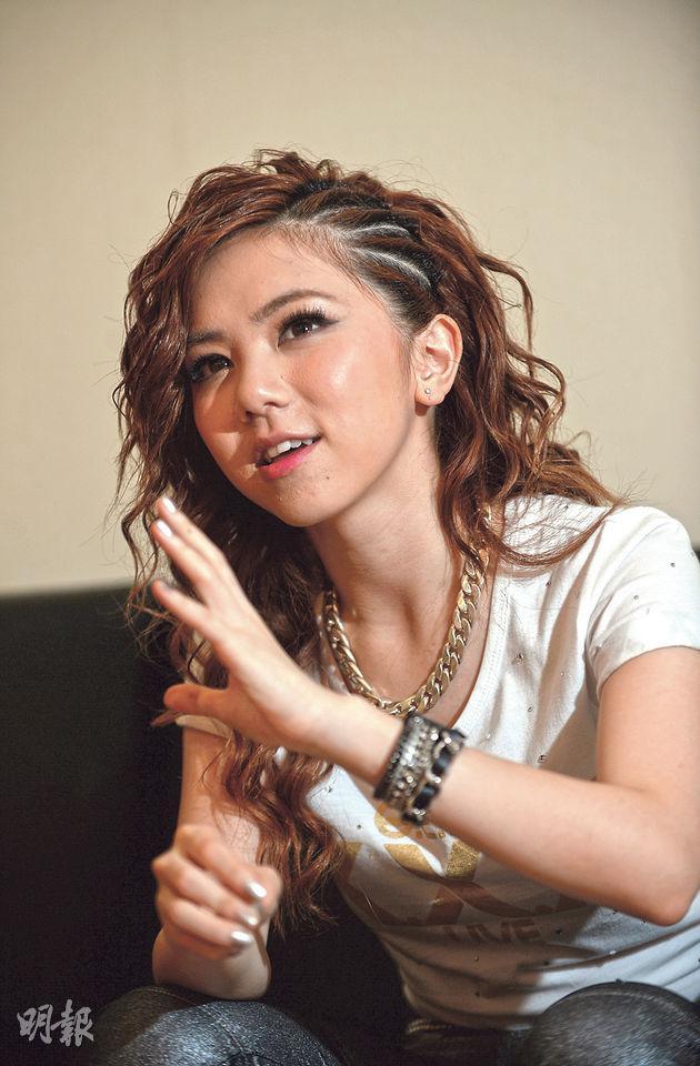 鄧紫棋於7月底世界巡演的廈門站接受本報專訪,爽快談論香港自由空間給她音樂創作帶來優勢。(盧翊銘攝)