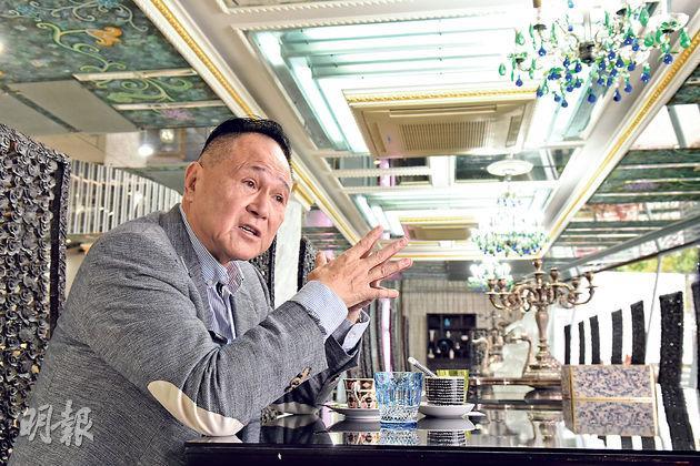 1970年代起便涉足本港地產業的卓能集團主席趙世曾指出,香港地產市道畸形發展,住宅「愈起愈細」,中小型地產商也缺乏與政府溝通的渠道,他近年已逐漸淡出香港市場,轉而到內地發展。(陳淑安攝)
