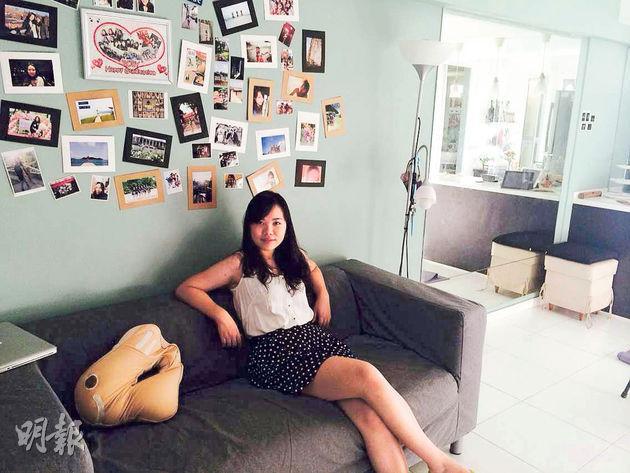 持工作簽證在新加坡工作的Ruby表示,在當地出租組屋是很常見的事,對於外國人來說,租組屋環境好,又方便,比私樓更經濟實惠。(受訪者提供)